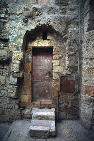Ancient door on Island of Rhodos photography by Brent VanFossen.